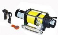 Лебедка электрическая СТОКРАТ HD 9.5 WP, 12V, с синтетическим тросом и радиопультом.