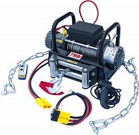 Лебёдка электрическая CM9000 4000 кг на цепях и проводами (в сборе)