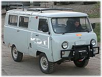 Передний силовой бампер KDT УАЗ Буханка (2206/452)