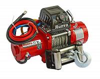 Лебёдка электрическая 12V Runva 9500 lbs 4350 кг (короткий барабан)