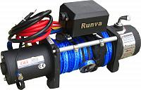 Лебёдка электрическая 12V Runva 8000 lbs 3629 кг (кевлар)