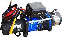 Лебёдка электрическая 12V Runva 8000 lbs (кевлар) Спорт