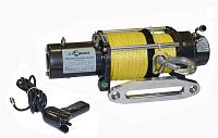 Лебедка электрическая СТОКРАТ SD 9.5 SW, 12V, с синтетическим тросом.