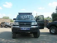 Багажник-площадка KDT Уаз Патриот (Patriot)