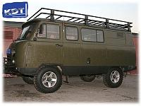 Багажник экспедиционный KDT Уаз Буханка